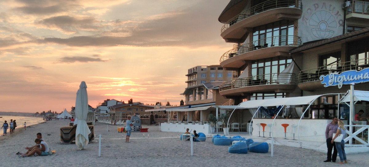 Отель Перлина — первая линия. Выход на пляж прямо из отеля. Ресторан