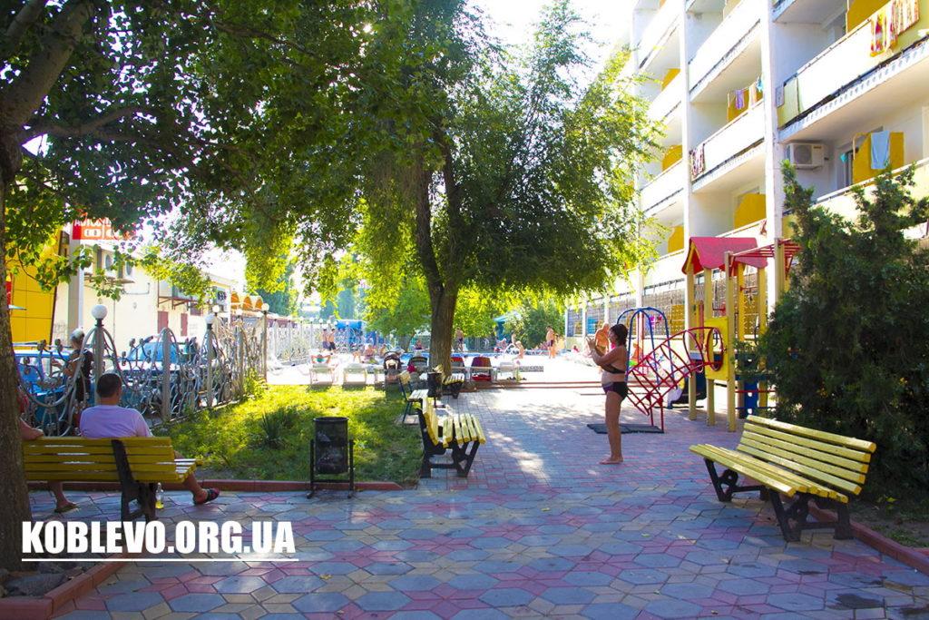 Отель Днестр — Коблево