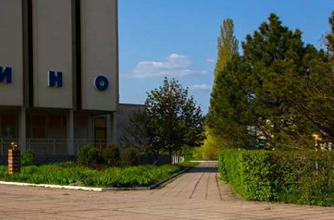 Голубой Факел — пансионат на Курортном проспекте, вторая линия от моря.