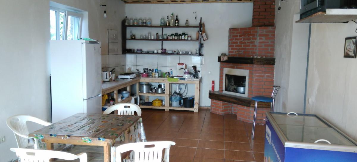 Кухня частный сектор