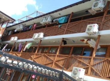 Уютный дворик в Коблево — база отдыха на ул. Кишиневская