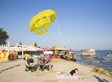 Парасейлинг в Коблево. Полёт с парашютом над морем в Коблево