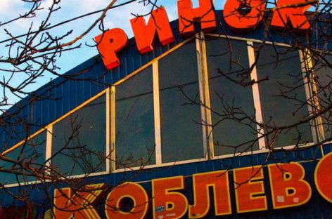 Рынок в Коблево поселке. Морепродукты, домашняя кухня, магазины. Автодорога М-14