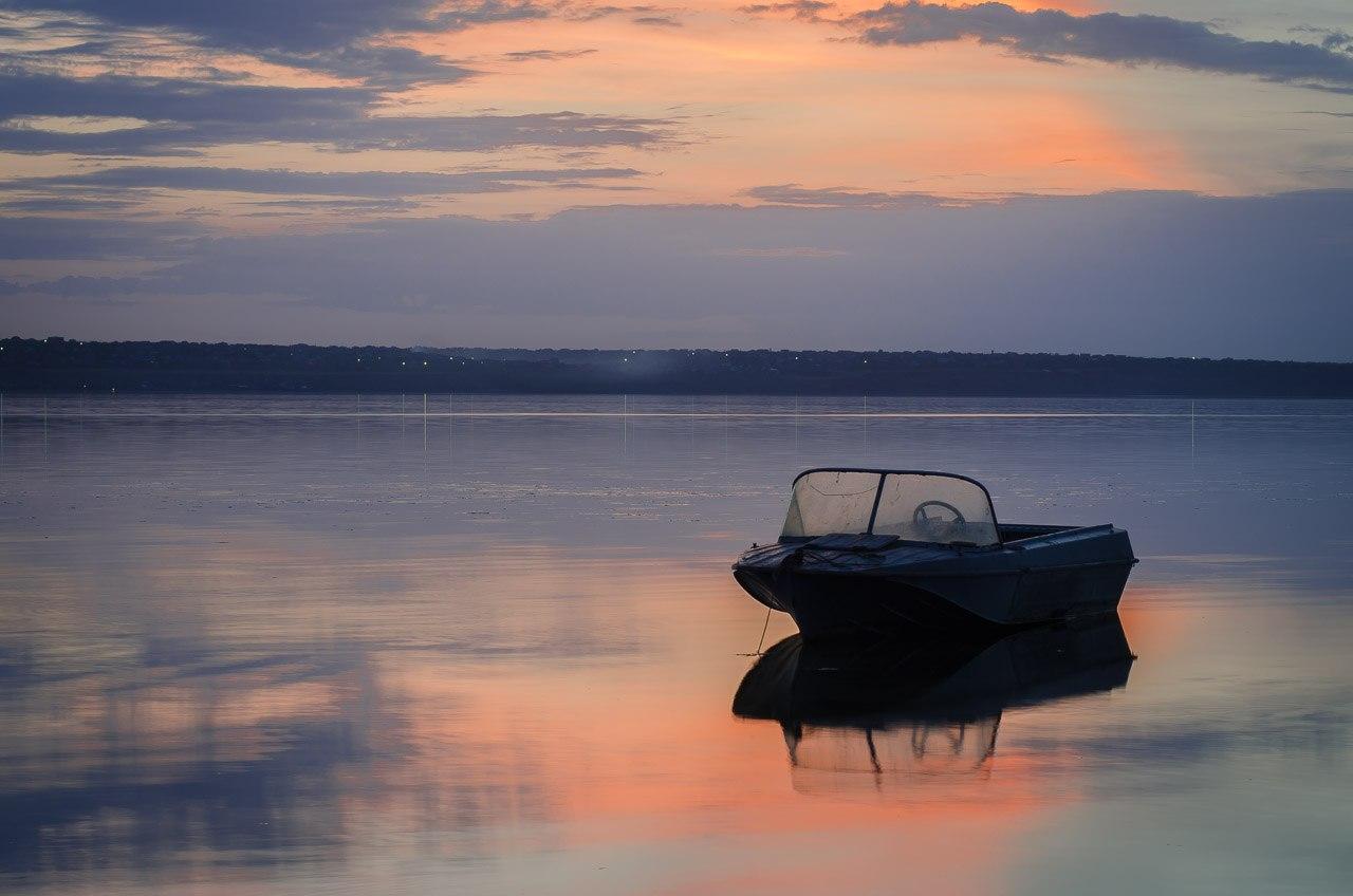 Лодка лиман