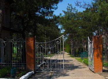 Коттеджный кемпинг Сосновый Бор в Коблево. Хвоя и море