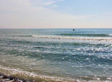 Коблево — температура воды в море сегодня. Интерактивная карта