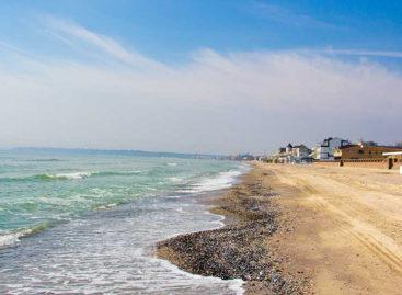 Берег Коблево — фото моря и пляжа курорта 2017