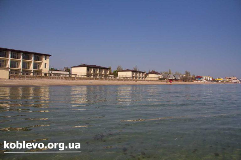 База відпочинку Орбіта, Коблево.