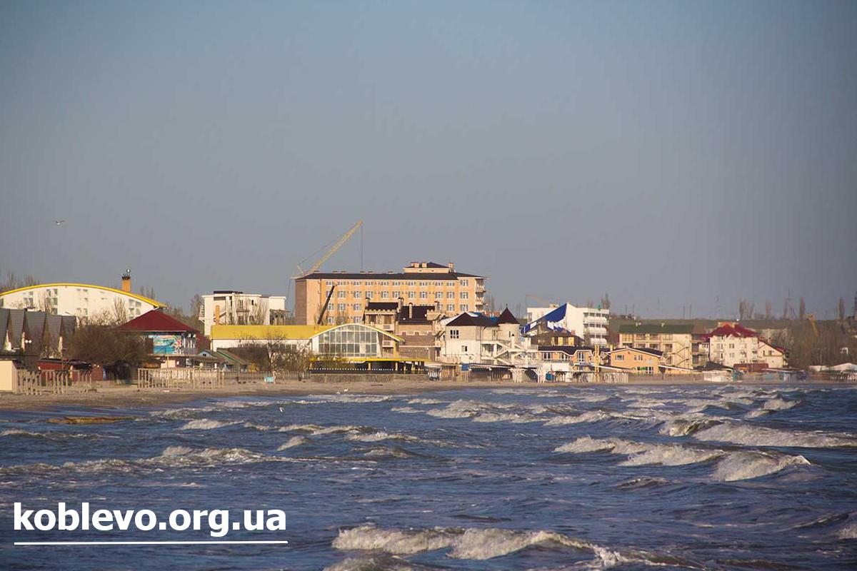 море коблево
