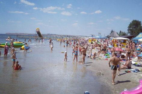 Отдых на море с детьми — Украина, Коблево. Развитая инфраструктура