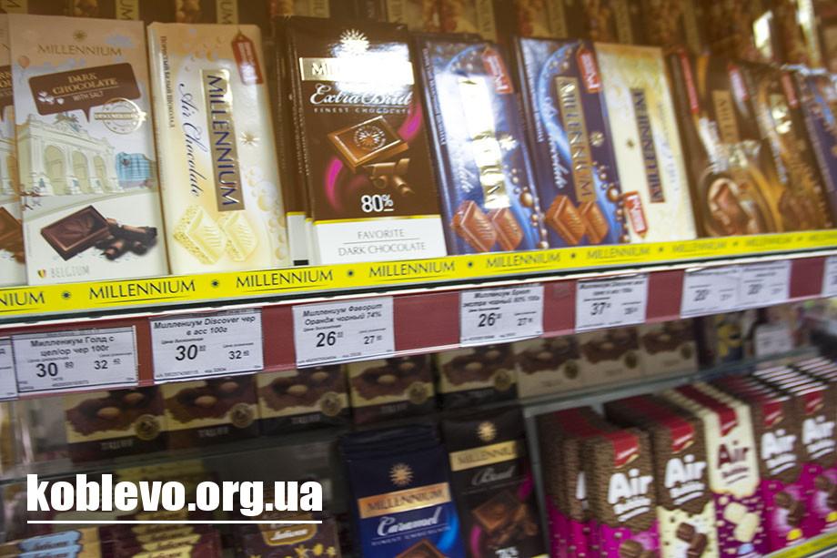 Цены на продукты в Коблево