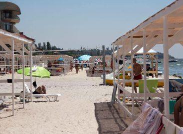 Волейбол в Коблево — сетки на пляже. Где находятся. Активный отдых