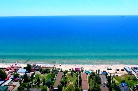 Фото Коблево с высоты — море, пляж, инфраструктура курорта