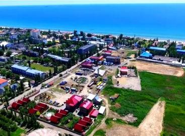 Коблево с высоты — видео. Съемка квадрокоптером. Инфраструктура, пляж