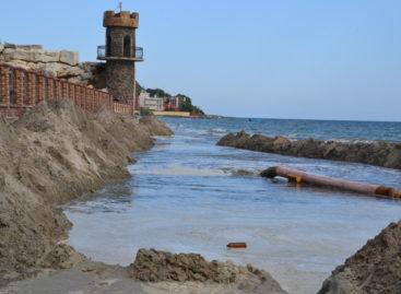 Пляжа в Коблево станет больше? Фото