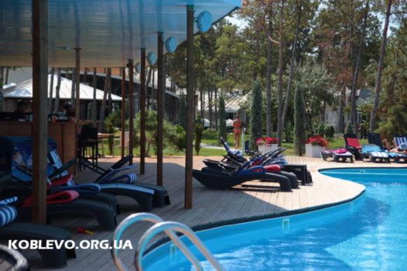 Отель Vita Park — коттеджи. Eco-friendly территория, 120 м от пляжа. Тихое место
