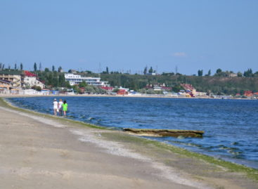 Лето скоро. Фото и видео Коблево перед сезоном. Море, пляж..