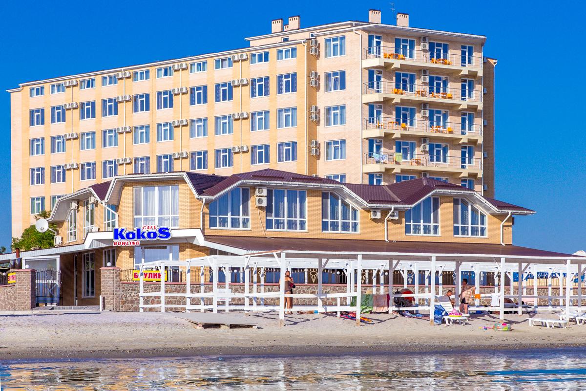 Отель Кристалл в Коблево