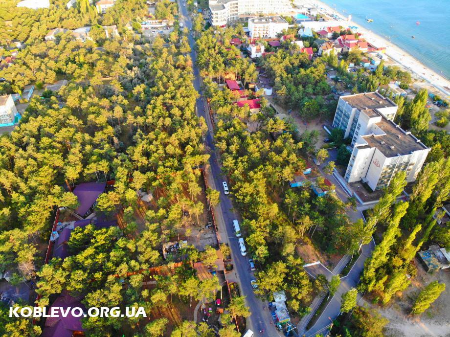 курортный проспект коблево