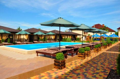 Sunrise — коттеджи с бассейном в первой линии. Коттеджный отель