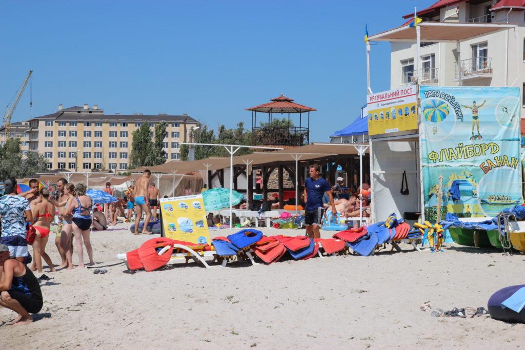Флайборд пляж коблево