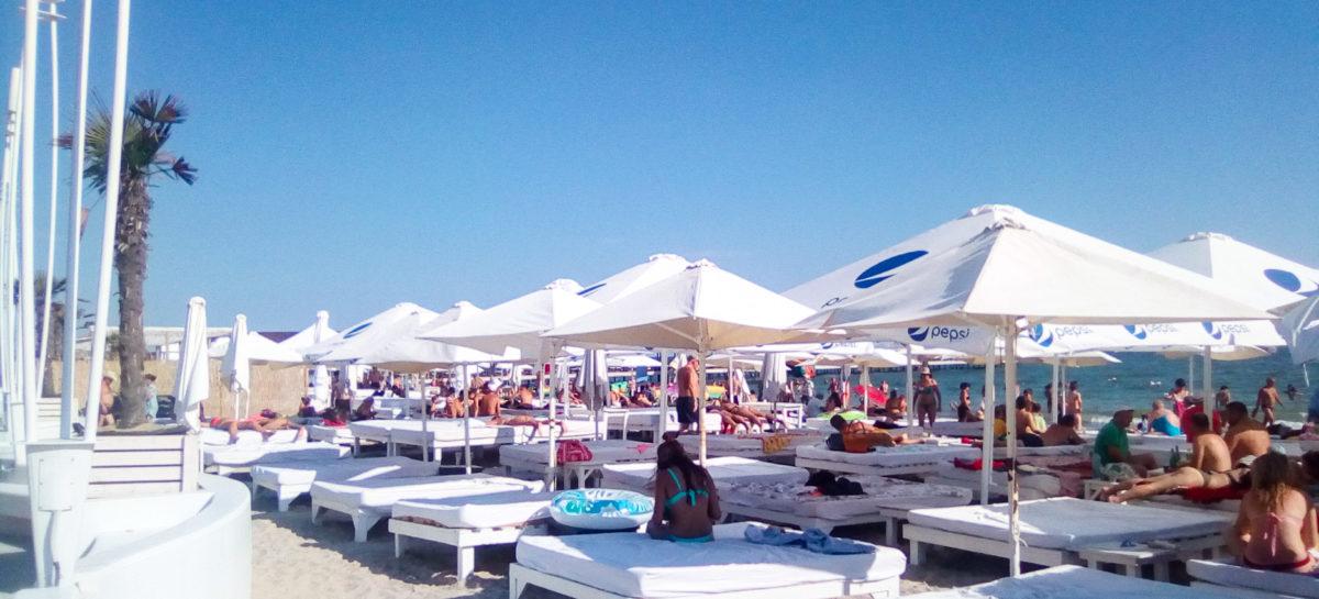 Пляж Bora Bora — Коблево курорт. Отдых у моря, еда, массаж, аттракционы