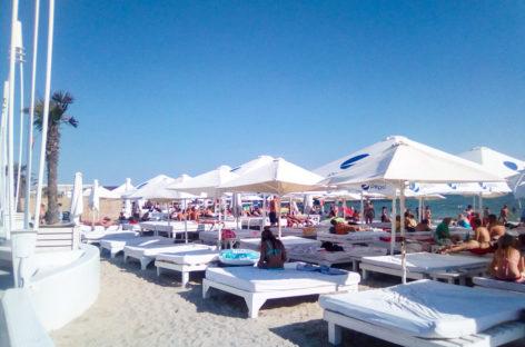 Пляж Bora Bora — Коблево курорт. Отдых, еда, массаж, аттракционы