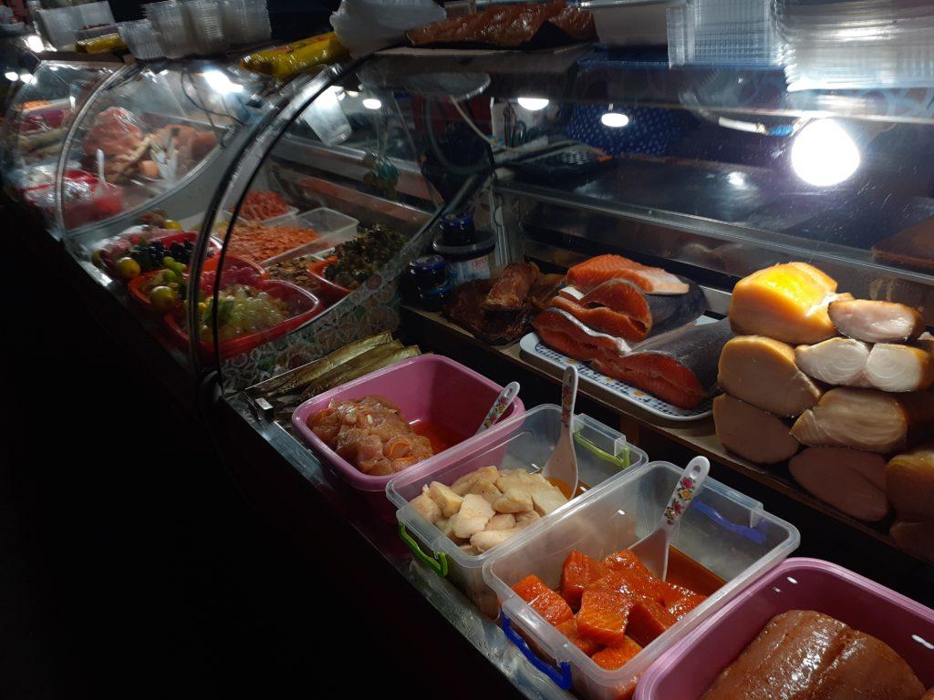 Рынок коблево морепродуктов