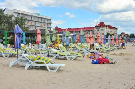 Разные фото курорта Коблево. Море, пляж, территория отдыха и др.