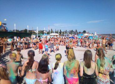 Color Fest 2019 в Коблево. Фестиваль ярких красок. Детский лагерь Нептун-1