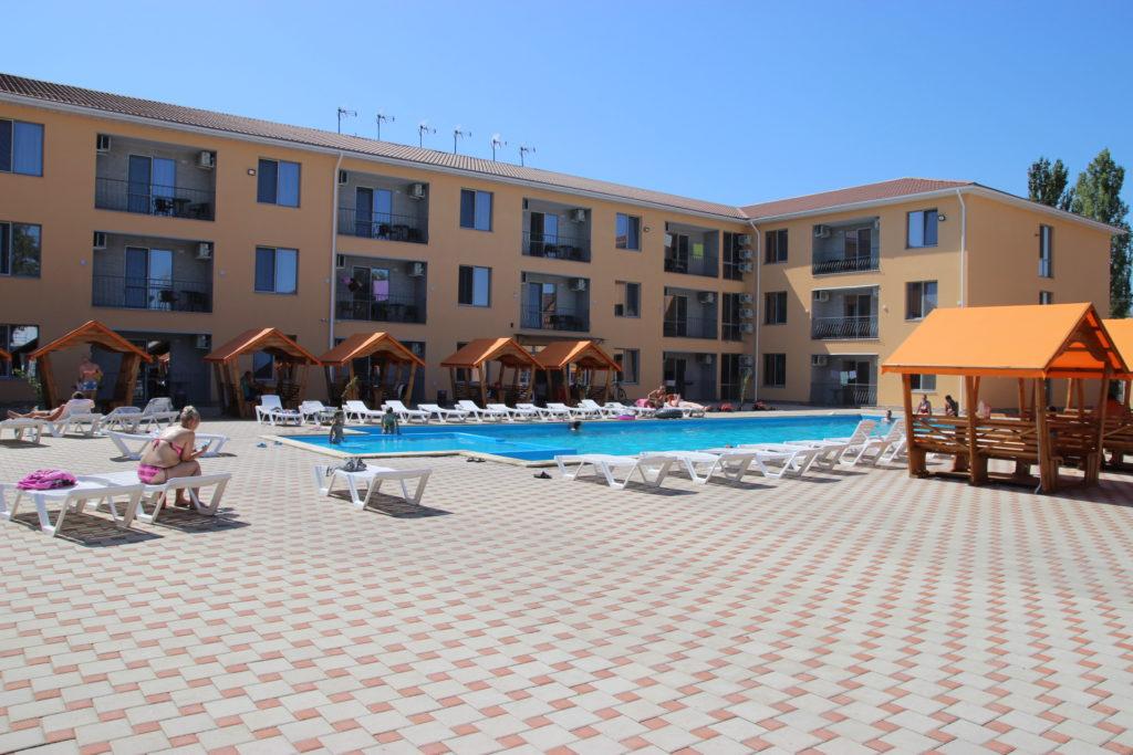 Отель коблево бассейн