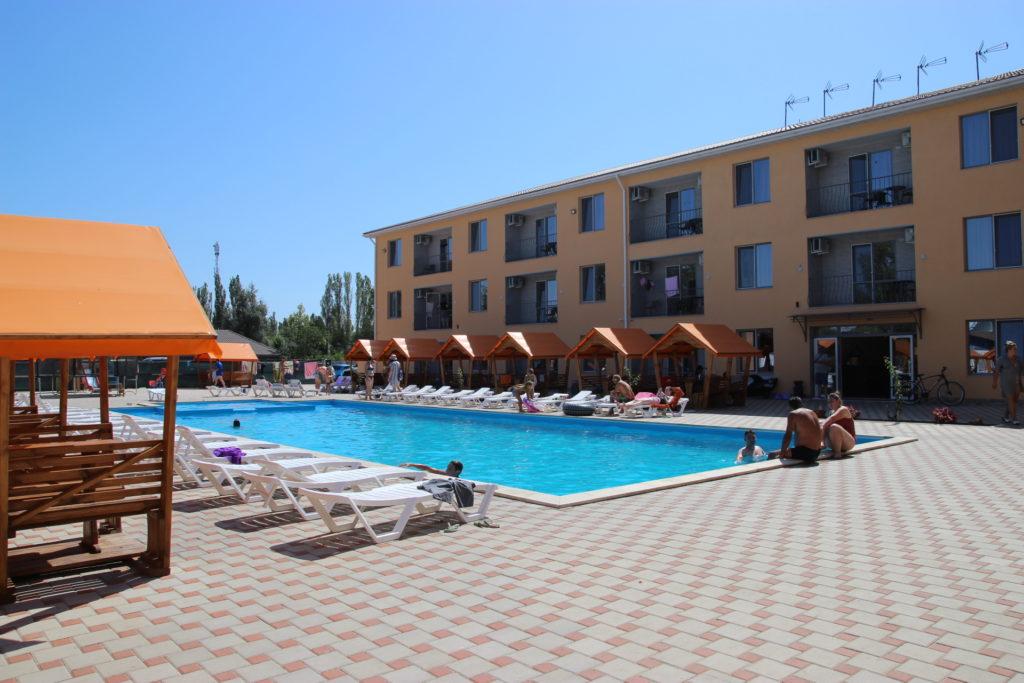 Отель Апельсин в Коблево