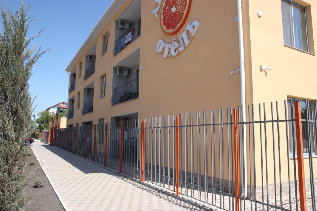 Отель апельсин коблево