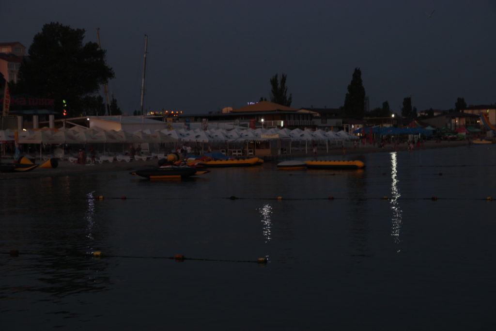 Коблево море вечер