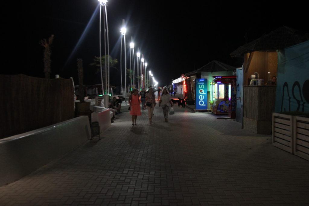 Коблево фото ночь