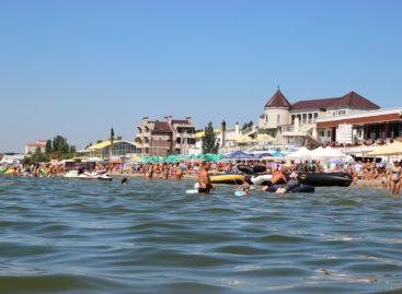 Все базы отдыха первой линии от моря курорта Коблево. Фото