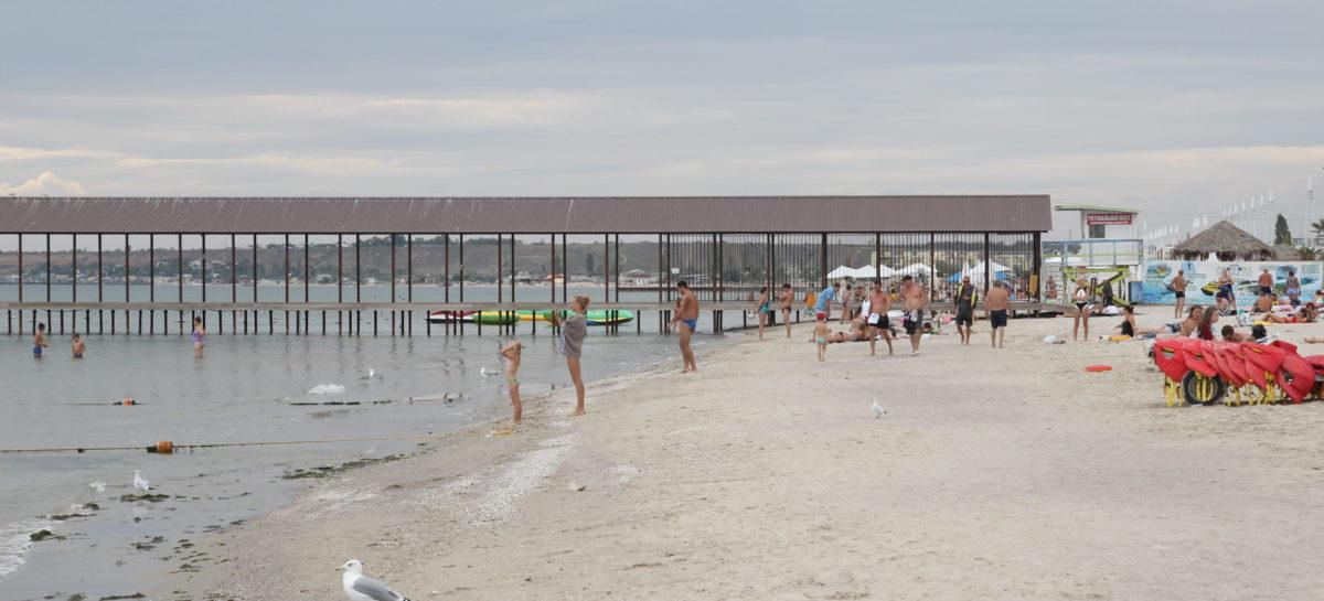 Фото курорта Коблево — осень, сентябрь 2019