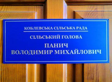 Коблевский сельский голова В.М. Панич