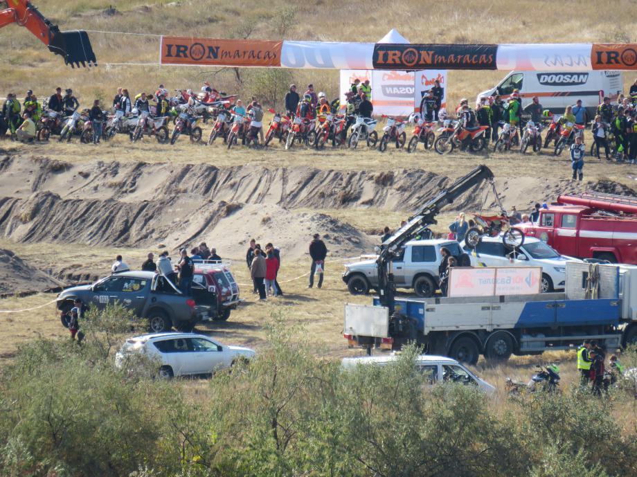 Мотогонки в Коблево Ironmaracas