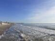 Фото в Коблево на море, начало декабря. Море, пляж..