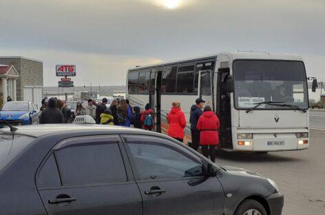 Автобус Коблево-Южный расписание. Виноградное, Кошары, Сычавка. Обновлённое.