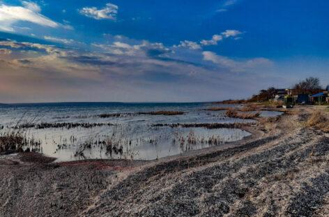 Тилигульский лиман. Несколько общих фото и видео, апрель 2020