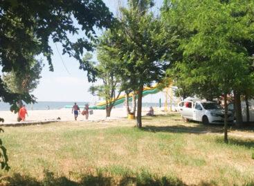 Автокемпинг в Луговом. Палаточный городок на море. Коблевская ОТГ
