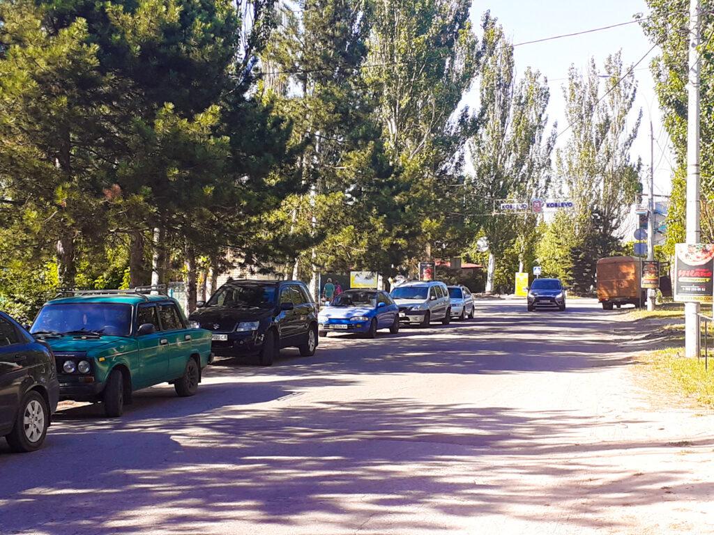Морская улица Коблево